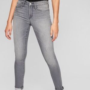 Athleta Stretchy Grey Fade Jeans